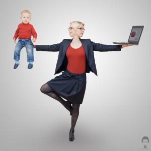 仕事と家庭と育児の両立 世間の理想と個人の理想は違う