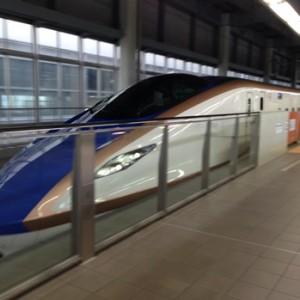 北陸新幹線に子連れで乗ってみました 速さと綺麗さと+αの快適さを実感