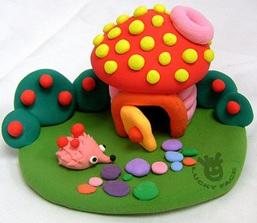 粘土遊びにハマったママの作品集 子供との室内遊びに粘土のすすめ